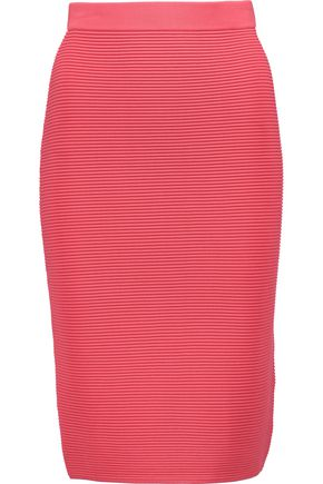 JONATHAN SIMKHAI Ribbed-knit skirt