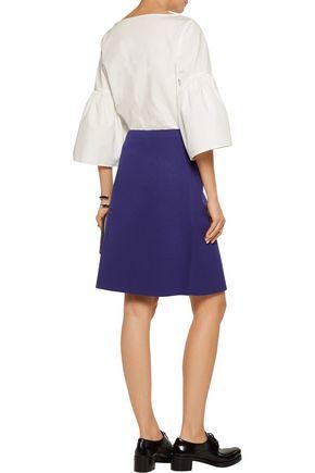 MARNI Stretch-neoprene skirt