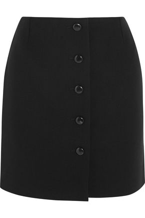 TOM FORD Stretch-wool crepe mini skirt