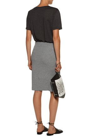 ENZA COSTA Stretch-jersey pencil skirt