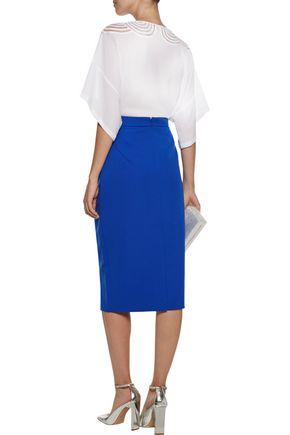 RAOUL Cady pencil skirt