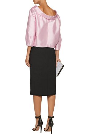 RAOUL Stretch-cady pencil skirt