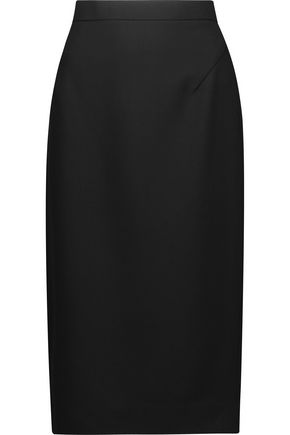 RAOUL Stretch-cady pencil skirt