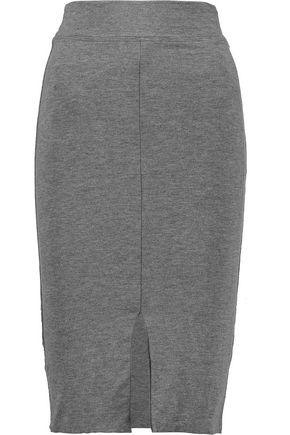 LNA Harley split stretch-modal skirt