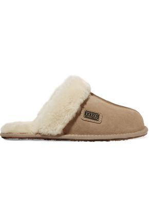 AUSTRALIA LUXE COLLECTIVE Suede slippers