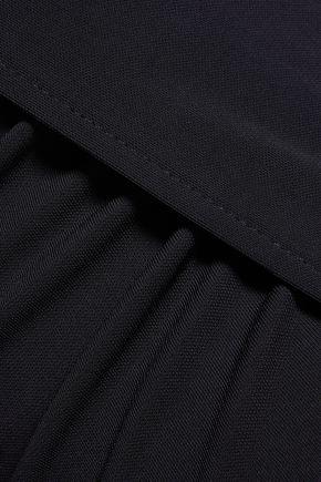 T by ALEXANDER WANG Wrap-effect  jersey maxi skirt