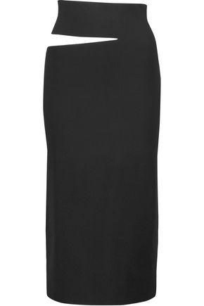 PROENZA SCHOULER Cutout stretch-knit midi skirt