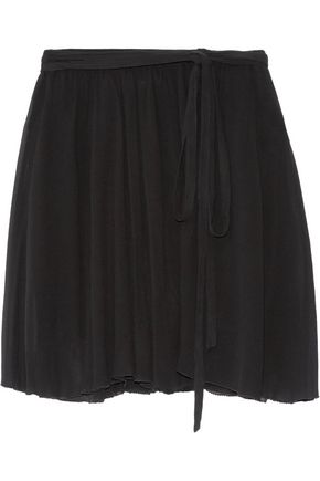 ISABEL MARANT ÉTOILE Akili georgette wrap mini skirt