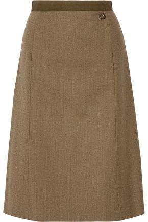 MAISON MARGIELA Wool-gabardine skirt