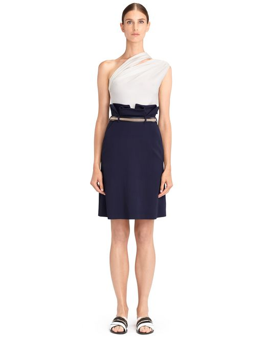 lanvin high-waisted skirt women