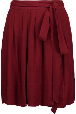ISABEL MARANT ÉTOILE Kristle pleated chiffon mini skirt