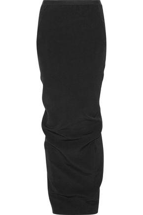 RICK OWENS Stretch-crepe maxi skirt