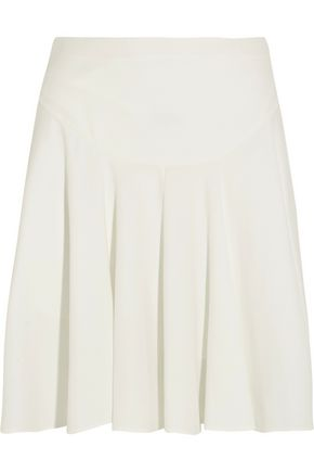 CHLOÉ Pleated cady mini skirt