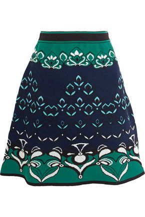 M MISSONI Jacquard-knit skirt