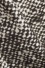 ROBERTO CAVALLI Pleated snake-print cotton-twill mini skirt