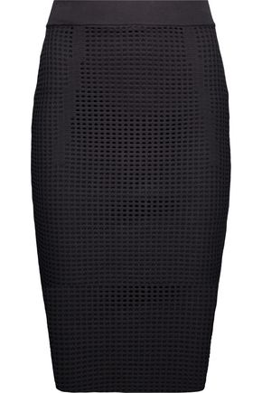 LINE Taylor open-knit midi skirt