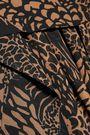 CHLOÉ Leopard print silk-georgette maxi skirt