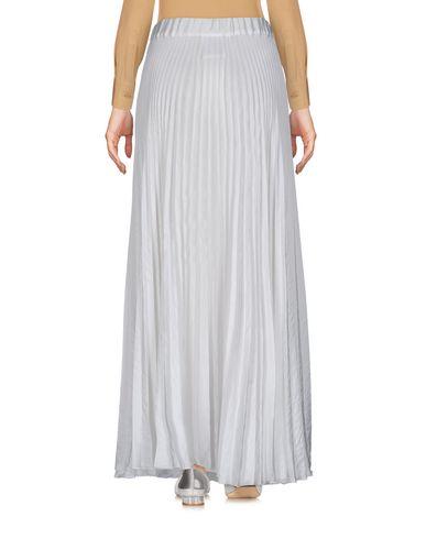 MESSAGERIE Damen Maxirock Weiß Größe 34 100% Polyester