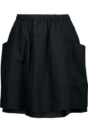 MARC BY MARC JACOBS Justine cotton-poplin mini skirt