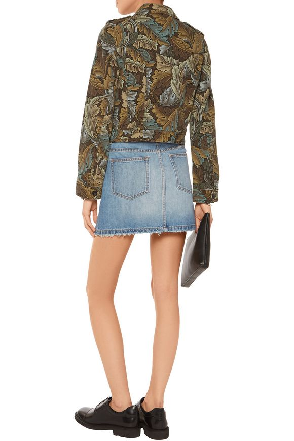 Icon faded denim skirt | MARC BY MARC JACOBS | Sale up to 70% off | THE  OUTNET