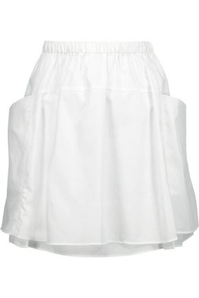 MARC BY MARC JACOBS Justine cotton-poplin mini skirt