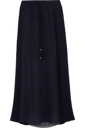 SEE BY CHLOÉ Pleated chiffon maxi skirt