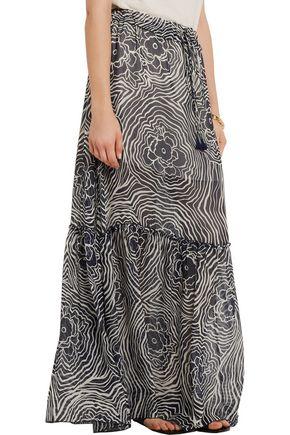 SEE BY CHLOÉ Floral-print silk-chiffon maxi skirt