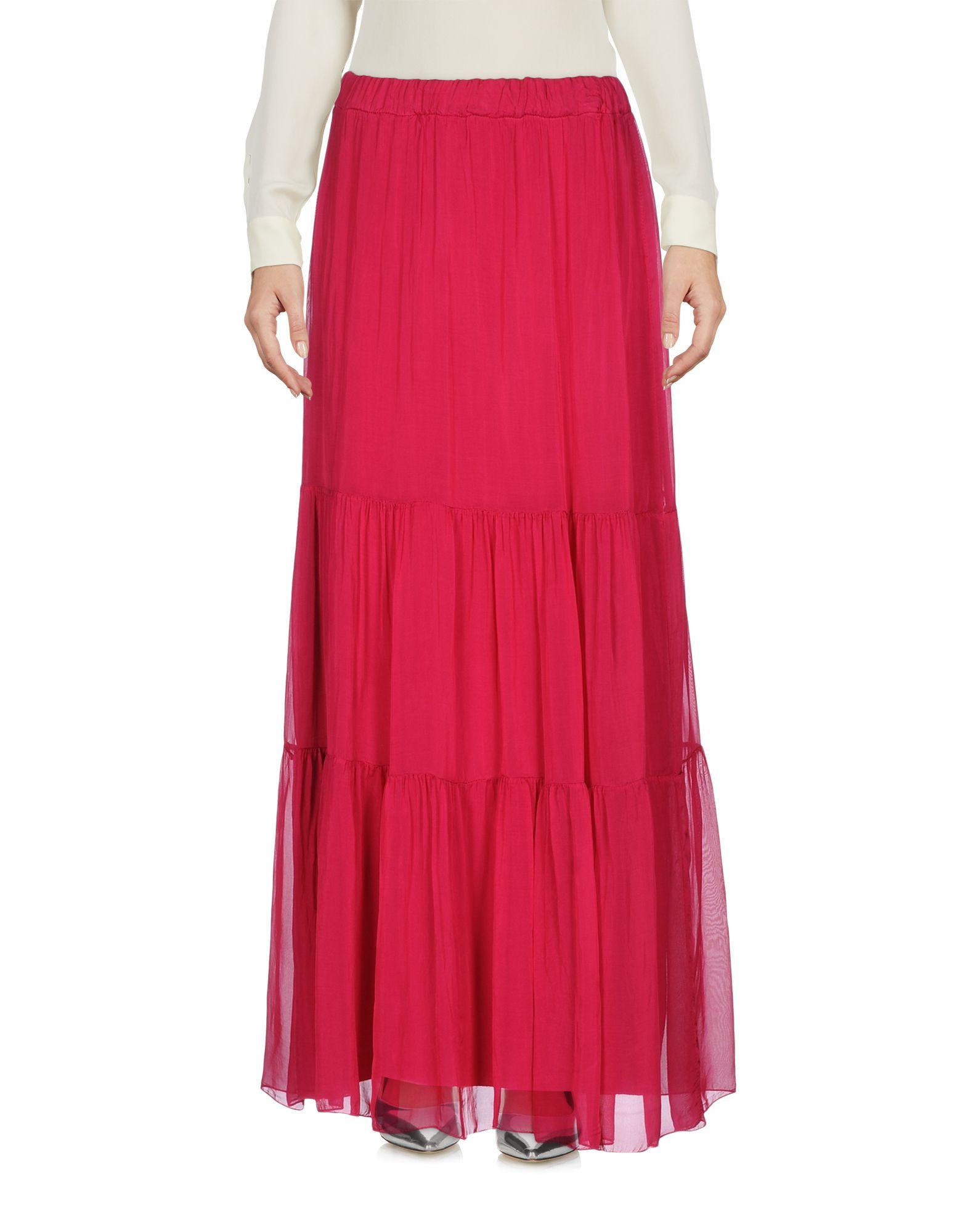 PAOLO CASALINI Длинная юбка paolo casalini платье до колена