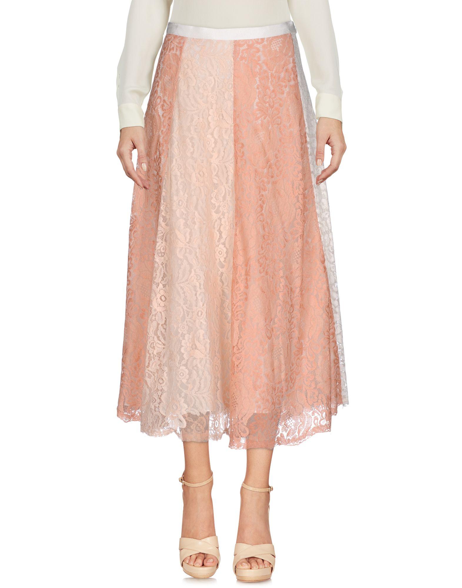 SOPHIA KAH 3/4 Length Skirts in Light Pink
