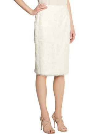 LANVIN Lace pencil skirt