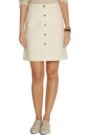 ADAM LIPPES Wool-blend skirt