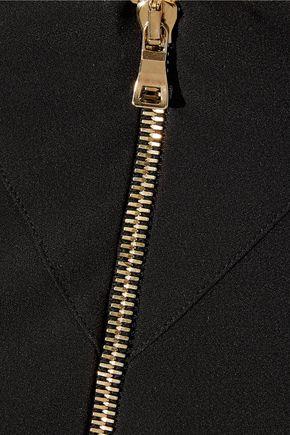 BALMAIN Crepe maxi skirt