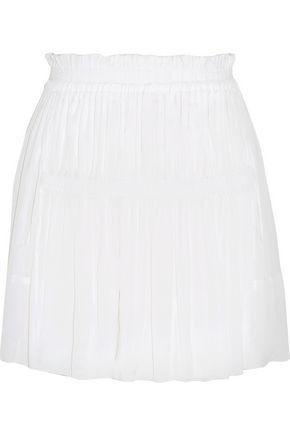 ISABEL MARANT Alanis pleated crepe mini skirt