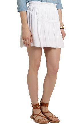 ISABEL MARANT Alanis pleated voile mini skirt