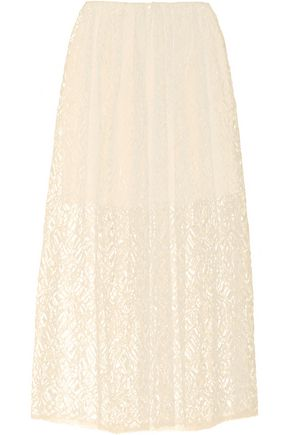 ADAM LIPPES Lace midi skirt