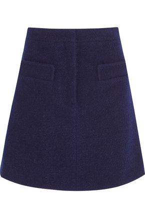 CARVEN Bouclé mini skirt