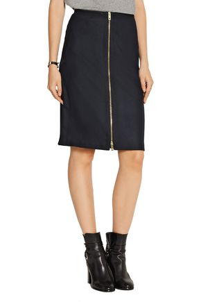 RAG & BONE Mazy wool-blend pencil skirt