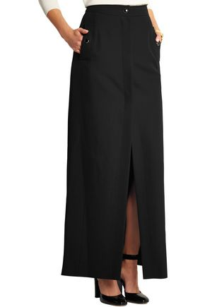 VANESSA SEWARD Adagio split-front wool-crepe maxi skirt