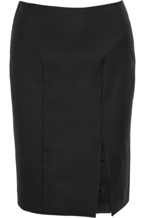 JOSEPH Super 100 wool-twill skirt
