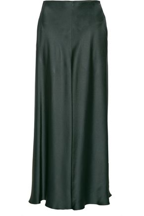 THE ROW Afrol hammered-satin maxi skirt