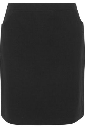 A.P.C. Taylor linen and cotton-blend twill mini skirt