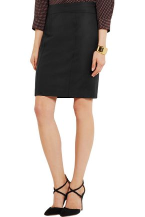 JOSEPH Clara wool-twill pencil skirt