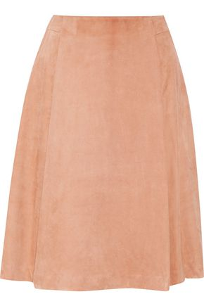 ADAM LIPPES Suede skirt