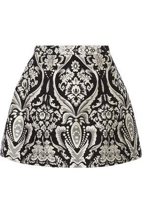 ALICE + OLIVIA Loran jacquard mini skirt