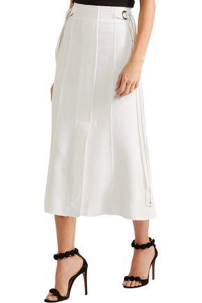 PROENZA SCHOULER Belted crepe midi skirt