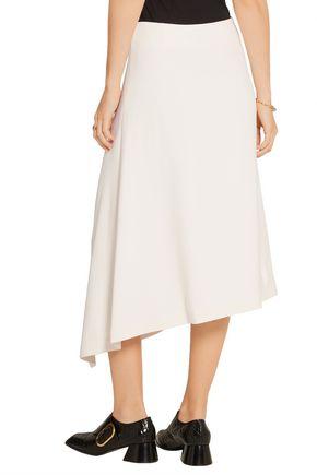 VICTOR ALFARO Asymmetric stretch-cady skirt