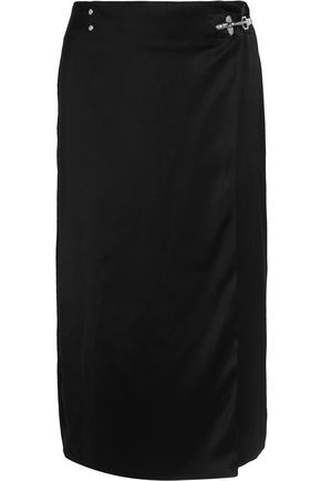 ACNE STUDIOS Satin midi skirt