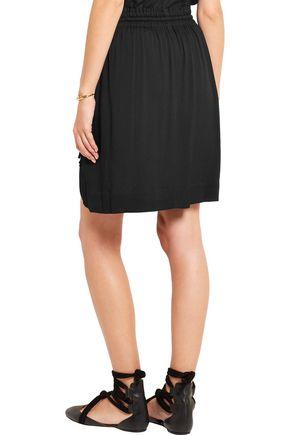 ISABEL MARANT ÉTOILE Newis fringed crepe skirt