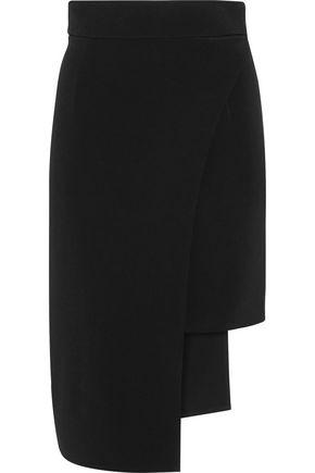 CUSHNIE ET OCHS Asymmetric stretch-cady skirt