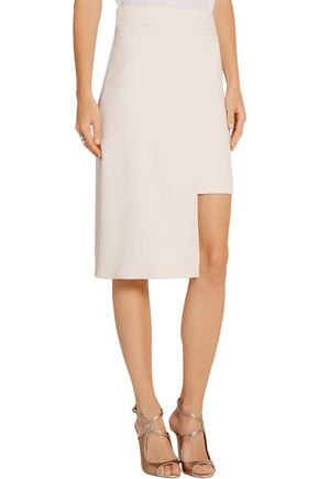 CUSHNIE ET OCHS Asymmetric stretch-cady skirt